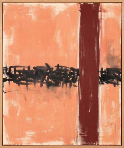Günther FORG (1952-2013) O.T., 1995 Acrylique sur toile. H_120 cm L_100 cm Cette...