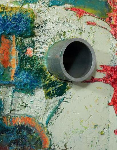 Frank STELLA (né en 1936) Level VIB, Shrine VI, 2001 Sculpture, peinture et céramique,...