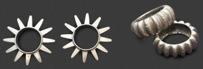 Deux paires de bracelets Aït Atta et Todrah...