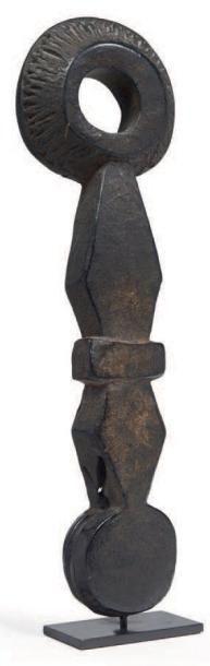 GUIDE BARRATE en bois sculpté d'un décor...