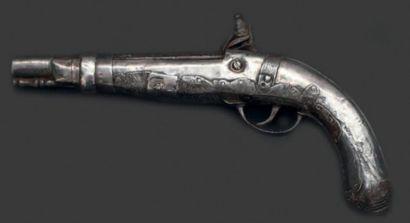 Pistolet à platine à silex. Sud du Maroc...