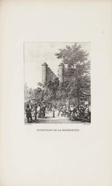 BACLER D'ALBE (Louis, général baron) Promenades pittoresques et lithographiques dans...