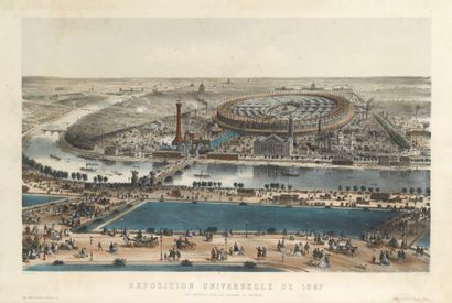 [EXPOSITION UNIVERSELLE 1867]. PROVOST. Exposition...