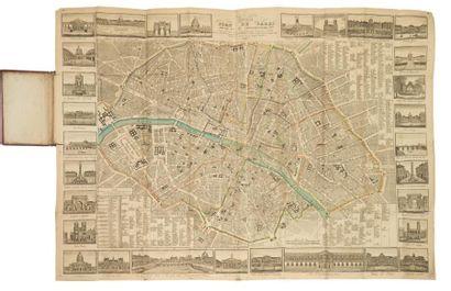 TURGIS. Nouveau plan de Paris divisé en 12...