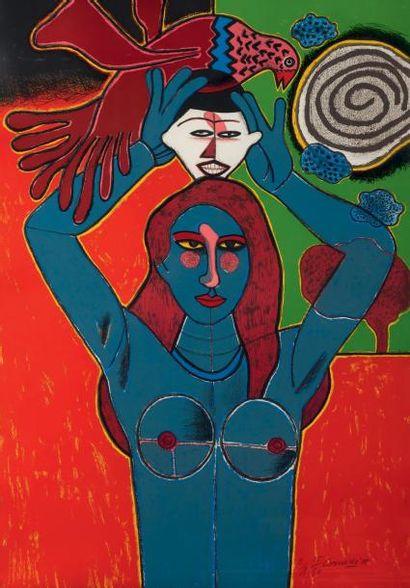 GUILLAUME CORNEILLE (CORNELIS VAN BEVERLOO) DIT CORNEILLE (1922-2010)
