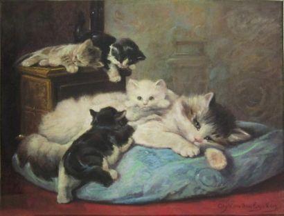 CHARLES VAN DEN EYCKEN (1859 - 1923)