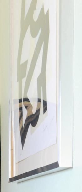 Fernando & Humberto Campana Composition, 2009 Sérigraphie signée et datée Numérotée...