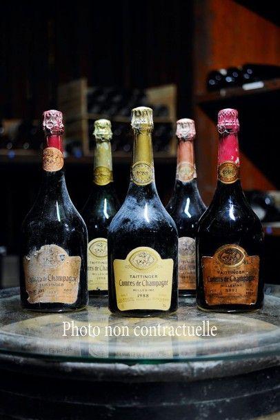 1 Bouteille Champagne Brut Dom Perignon Rosé 1985 Moët et Chandon (e.a; coiffe ...
