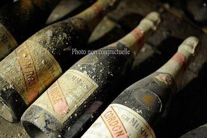 4 Bouteilles Champagne Brut Comtes De Champagne...