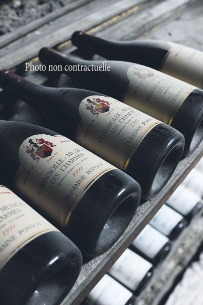5 Bouteilles Corton (Grand Cru) 1999 Bonneau...