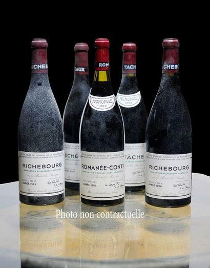 3 Bouteilles Grands-Echezeaux (Grand Cru)...
