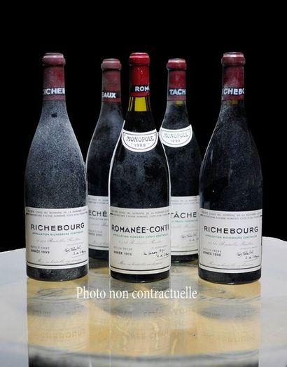 4 Bouteilles Grands-Echezeaux (Grand Cru)...