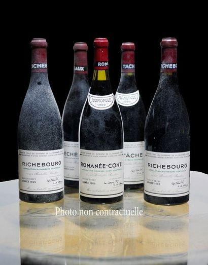 1 Bouteille Grands-Echezeaux (Grand Cru)...