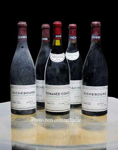 1 Bouteille La Tâche (Grand Cru) 1994 Domaine...