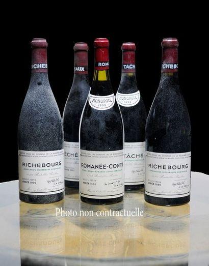 9 Bouteilles Pommard Les Grands Epenots (1°...