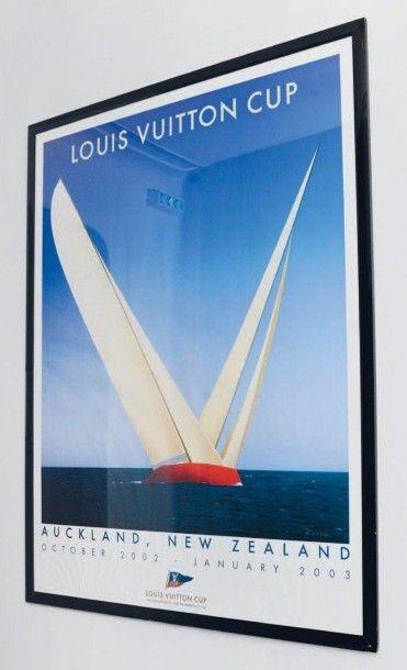 Louis Vuitton Cup Affiche encadrée H_162...