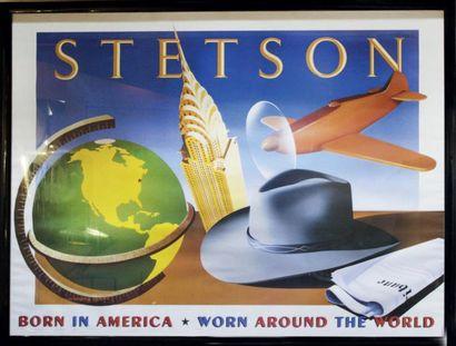 Affiche Stetson d'après Razzia H_120 cm L_154...