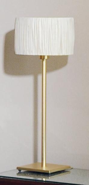 Paire de lampes à poser H_68 cm et lampe...