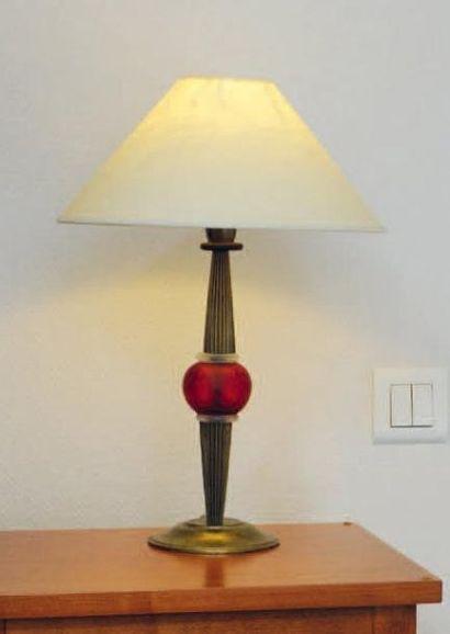 Lampe de chevet et une lampe de bureau en...