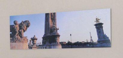 Trois reproductions photographiques de vues...