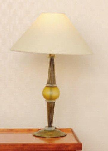 Paire de lampes de chevet en résine. H_45...