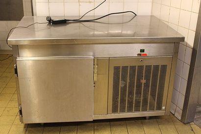 Armoire réfrigérée inox, une porte