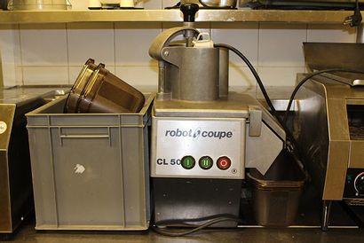 Robot Coupe CN50 avec bacs et lames