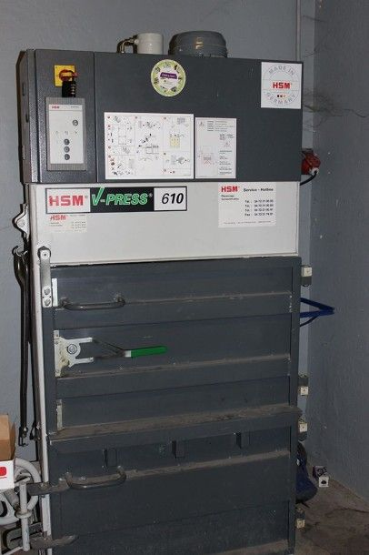 Presse à balles HSM V-PRESS 610