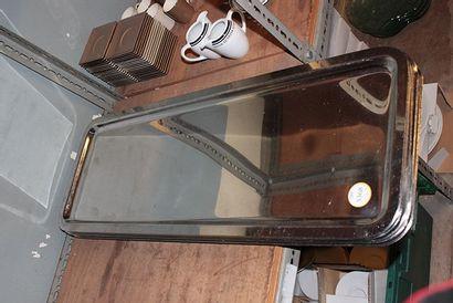 10 grands plats en métal rectangulaire L...