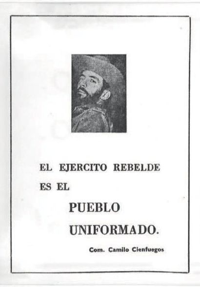 [CUBA]. 99 Documents de la Révolution cubaine....
