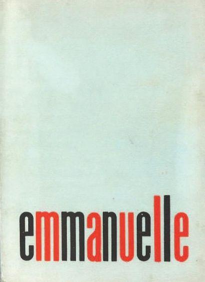 [EROTISME]. ROLLET-ANDRIANE Marayat. Emmanuelle....