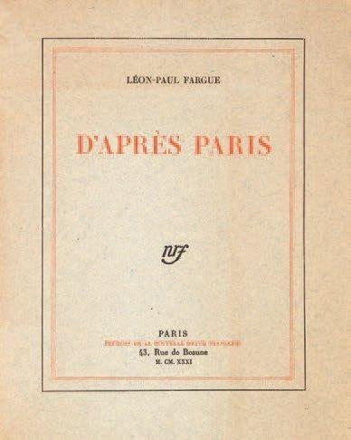 FARGUE Léon-Paul