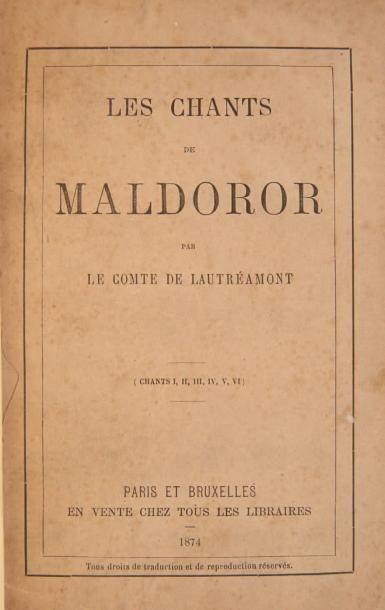 LAUTREAMONT Isidore Ducasse, Comte de
