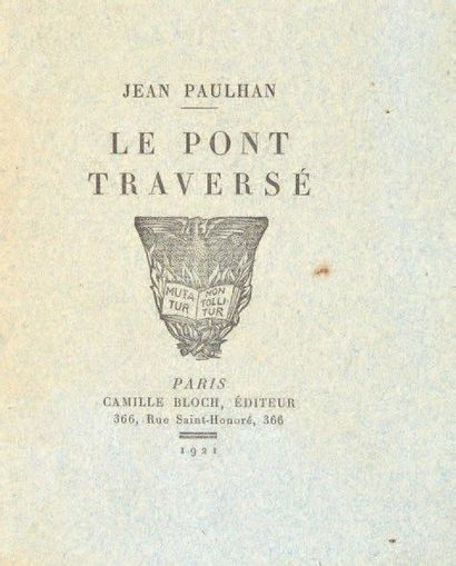 PAULHAN Jean