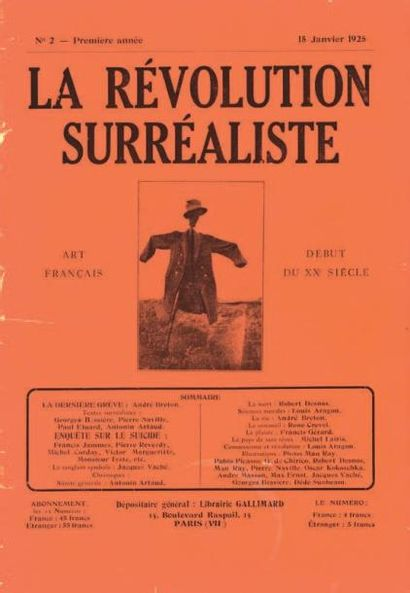 [REVUE.] La Révolution Surréaliste. Numéros...
