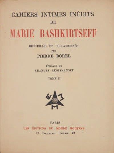 BASHKIRTSEFF Marie