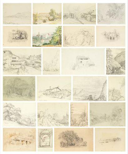 JEAN JULIEN DELTIL, SON MAÎTRE (PARIS 1791-FONTAINEBLEAU 1863)