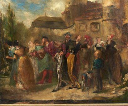 EMILE BOILVIN (METZ 1815-PARIS 1899)