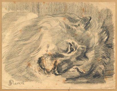 CHARLES EDMÉ SAINT-MARCEL-CABIN (PARIS 1819-FONTAINEBLEAU 1890)