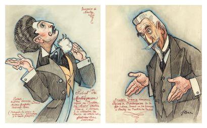 FERDINAND SIGISMOND BACH DIT FERDINAND BAC (STUTTGART 1859-COMPIÈGNE 1952)
