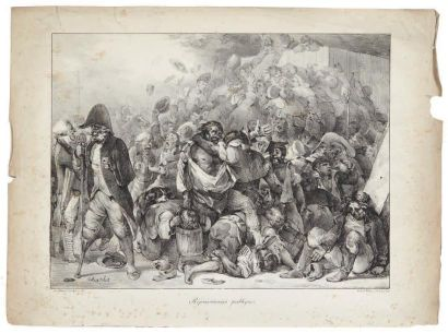 NICOLAS - TOUSSAINT CHARLET (1792-1845)