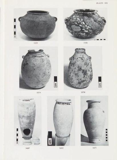 EL-KHOULI A Egyptian stone vessels; predynastic period to dynasty III, Mayence, 1978,...