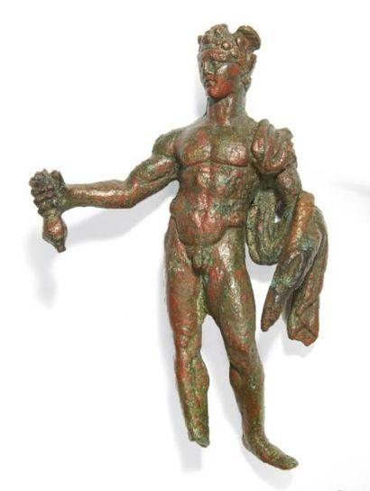 STATUETTE DE MERCURE. Statuette représentant...
