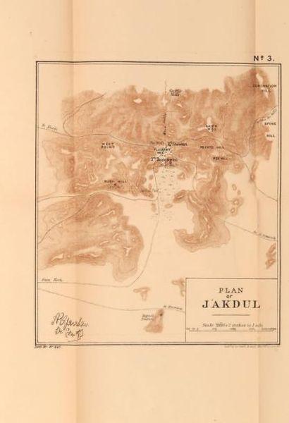 COLVILE H. E History of the sudan campaign, Londres, 1889, 2 volumes reliés accompagnés...