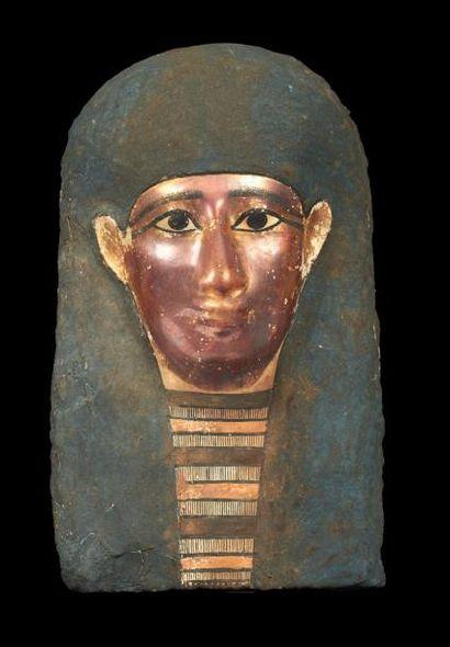 MASQUE DE MOMIE. Masque de momie, le visage...