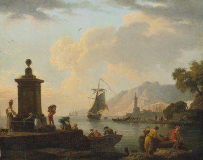ATTRIBUÉ À CHARLES FRANÇOIS GRENIER, DIT LACROIX DE MARSEILLE (VERS 1700-1782)