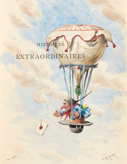 POË, Edgar Allan Histoires extraordinaires [Nouvelles Histoires extraordinaires],...