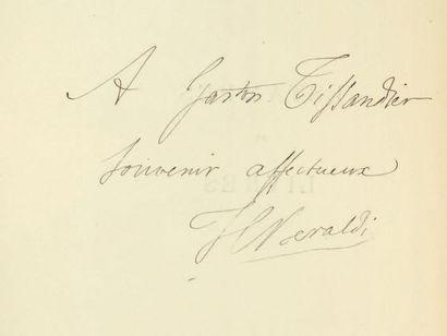 BÉRALDI, Henri Estampes et livres. 1872-1892. Paris, L. Conquet, 1892. In-4; maroquin...