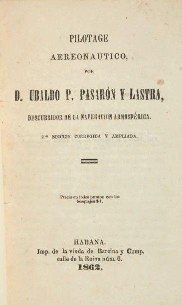 PASARON Y LASTRA, Ubaldo P. Pilotage aeronautico....