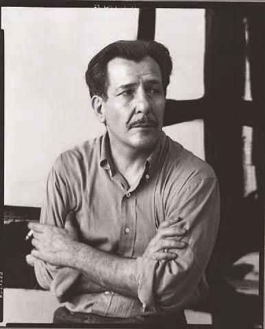 Franz KLINE (1910-1962) Untitled, 1957 Gouache sur papier. Signée en bas vers le...